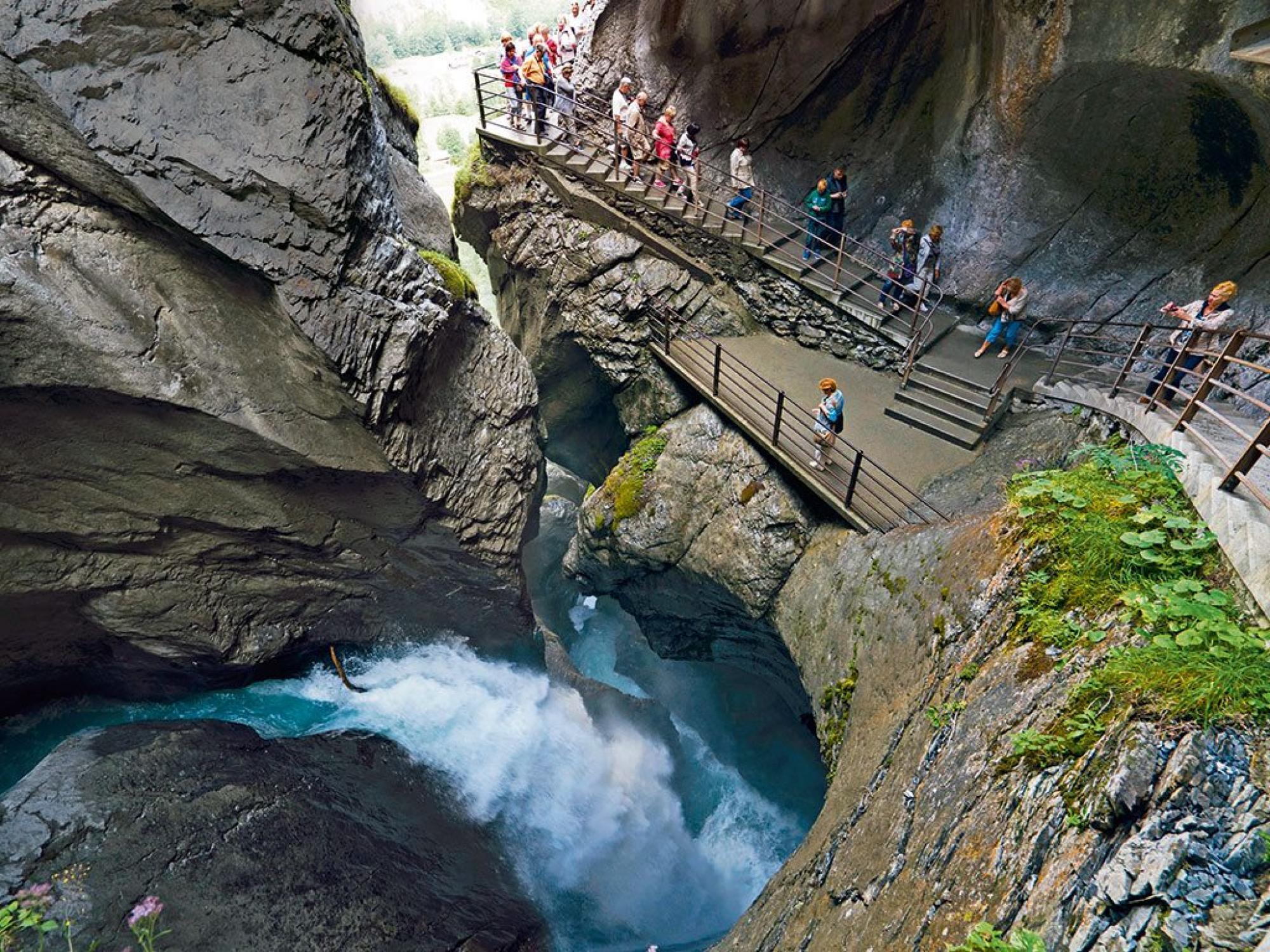 Klettersteig Lauterbrunnen : Sommer schilthorn piz gloria mürren
